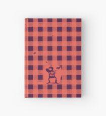 Fast ein Holzfällermuster Notizbuch