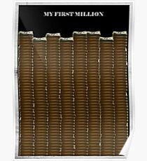Meine erste Million - Pablo escobar Poster