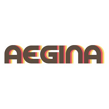 Aegina Retro by designkitsch