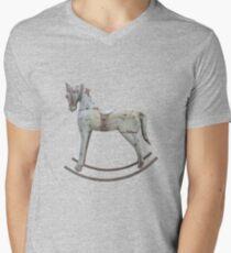 Vintage rocking horse V-Neck T-Shirt