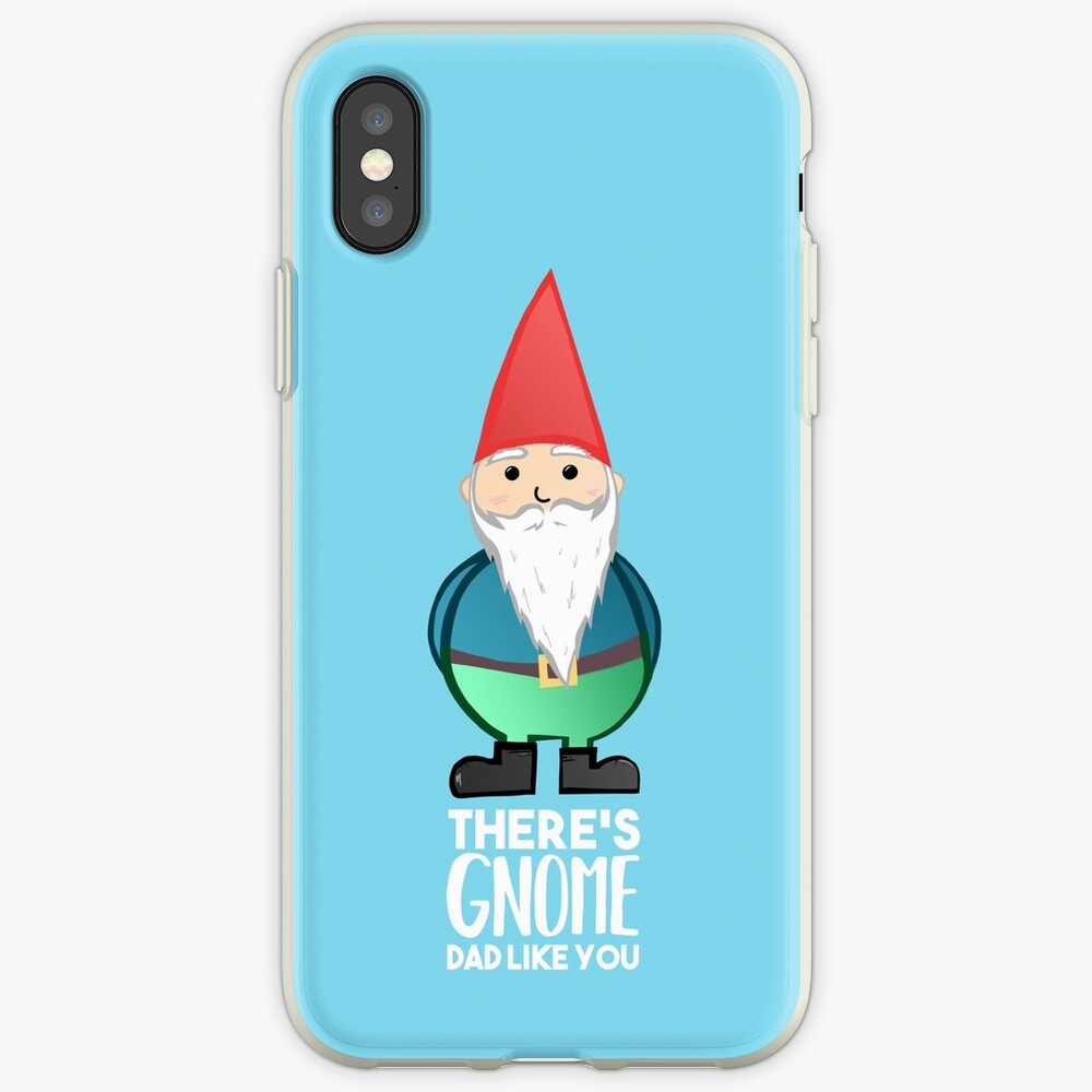 Gnome - Fathers Day , Dad, Daddy Card, Birthday! iPhone Cases & Covers
