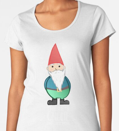 Gnome Dad T Shirt - Fathers Day , Dad, Daddy Card, Birthday! Premium Scoop T-Shirt
