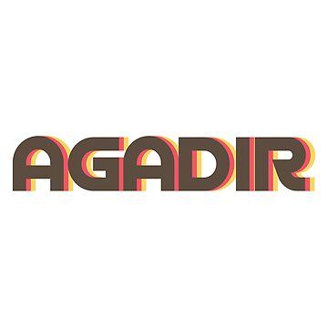 Agadir Retro by designkitsch