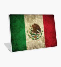 Vintage Mexican Flag Laptop Skin
