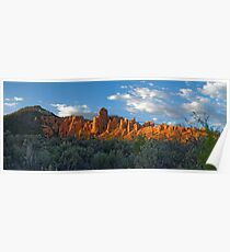 Red Canyon Panorama Poster