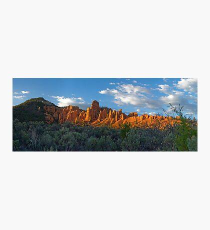 Red Canyon Panorama Photographic Print