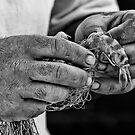 A Fisherman by Antonio Zarli