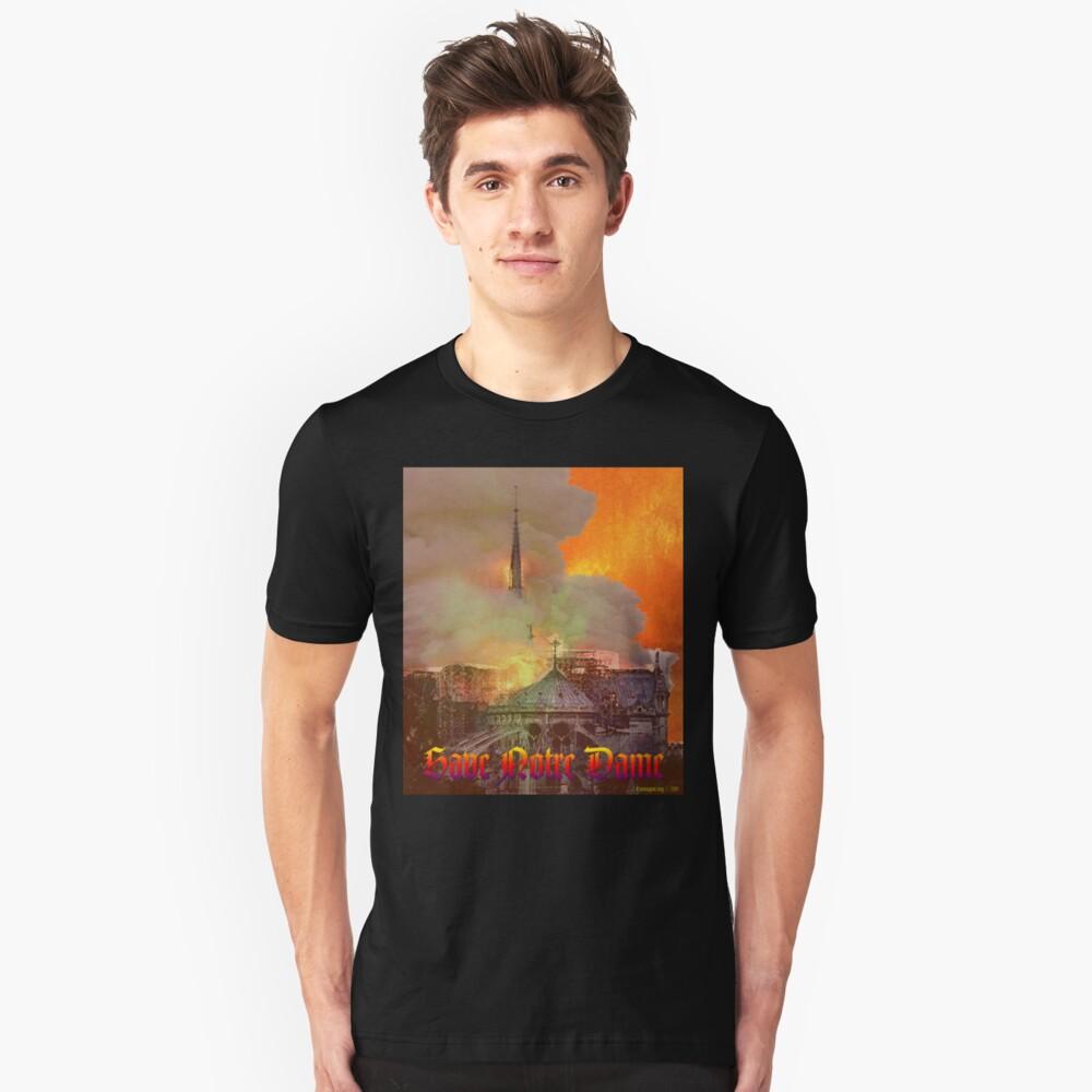 Notre Dame Fire Unisex T-Shirt