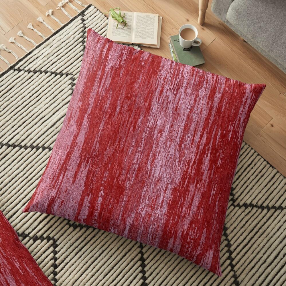 Grungy effect Floor Pillow