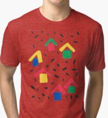 Painted Village Tri-blend T-Shirt
