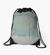 Winter Rhapsody Drawstring Bag