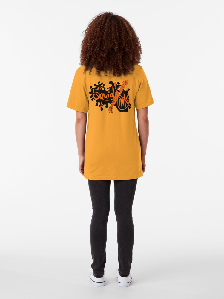 Alternate view of Squid Ink Clothing logo Slim Fit T-Shirt