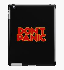 Dont Panic - The Hitchhiker's Guide to the Galaxy iPad Case/Skin