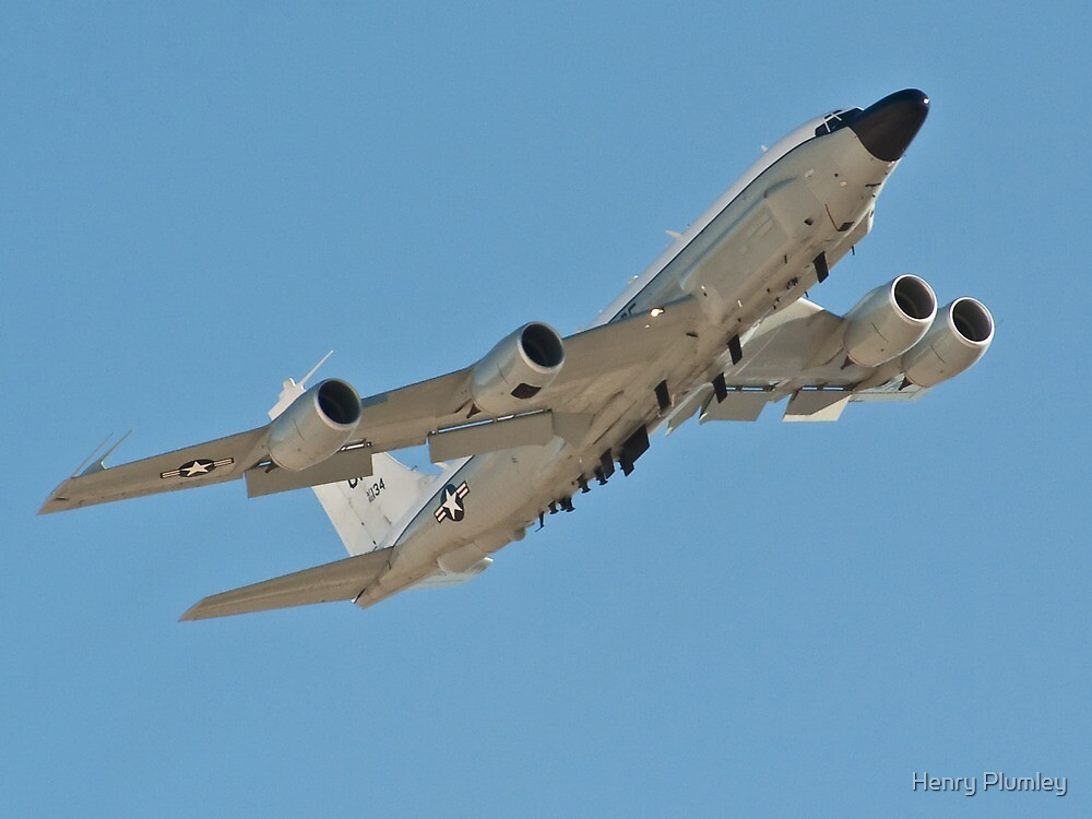NKC-135 Airborne command and control by Henry Plumley