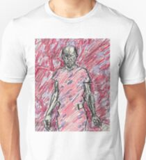 'Energy Made Real (Portrait of Jackson Pollack)' T-Shirt