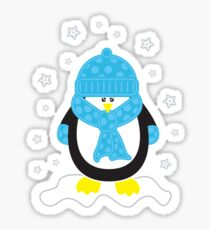 Baby It's Cold Outside [Boy Penguin] Sticker