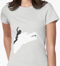 Niemals endend Tailliertes T-Shirt für Frauen