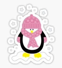 Baby It's Cold Outside [Girl Penguin] Sticker