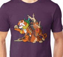Old Queens of the Past - Scar and Shere Khan Unisex T-Shirt