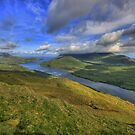 Killary Fjord View by John Quinn