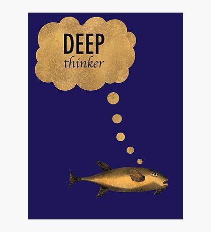 Deep Thinker Photographic Print