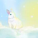 Kaninchen Nebel im Nebel von wackelnasen