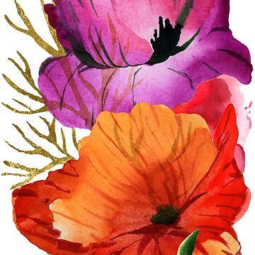 Flower Power - Mohnblume von M-ohlala