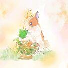 Glückliches Kaninchen von wackelnasen