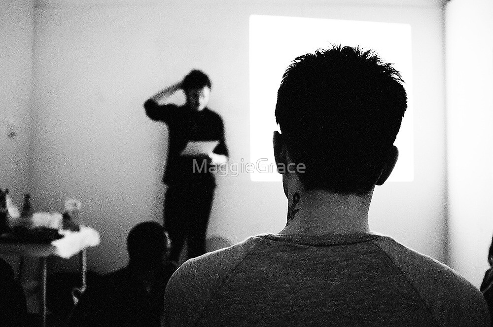 Performance Art Lecture in London by MaggieGrace