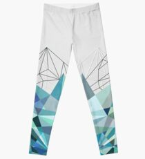 Colorflash 3 Turquoise Leggings
