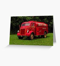 1951 Ford Oil Truck Greeting Card