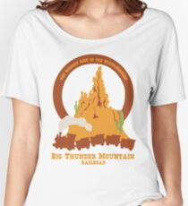 Big Thunder Mountain Railroad Women's Relaxed Fit T-Shirt