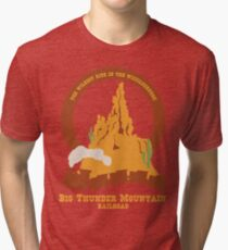 Big Thunder Mountain Railroad Tri-blend T-Shirt