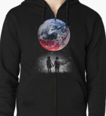 Until The End Of The World Zipped Hoodie