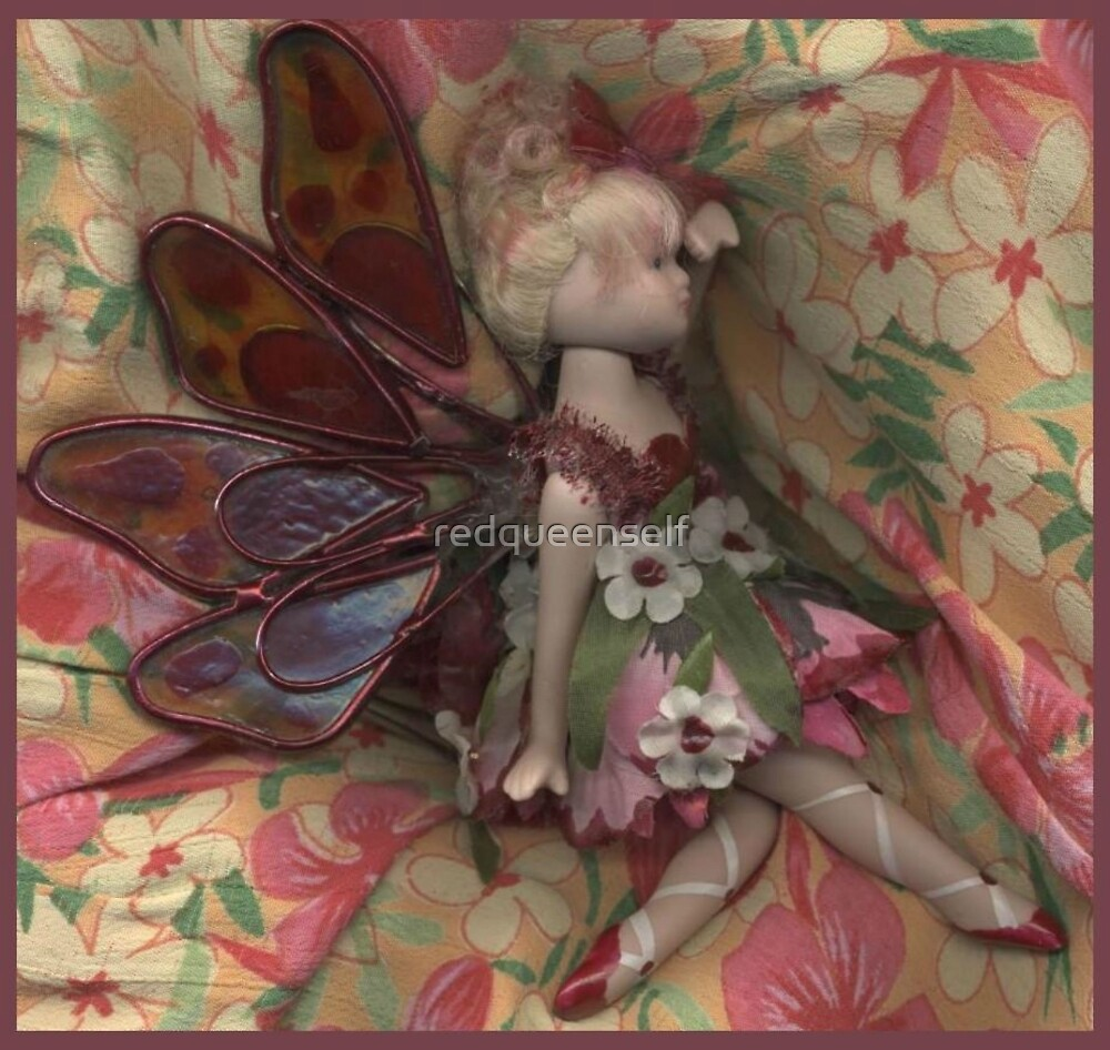 Pressed Fairy by redqueenself