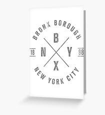 The Bronx, NY Greeting Card