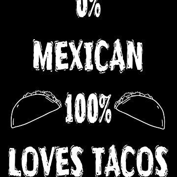 Loves Tacos  - Funny Cinco De Mayo T Shirts by greatshirts