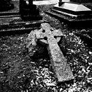 Cross Grave by Michael  Addison