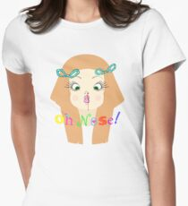 Oh Nose! Womens Fitted T-Shirt