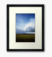 Coming Rain, Mallee 2 Framed Print
