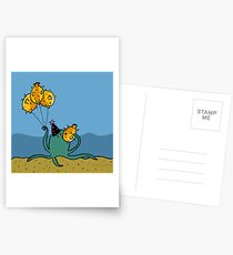 Party Octopus Postcards