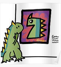 Museum of Monster Modern Art Poster
