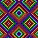 Rainbow Squares 1 by Etakeh
