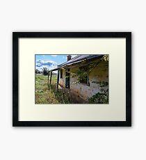 Abandoned Crookwell  Farmhouse Framed Print