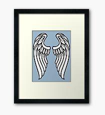 Vector Wings Framed Print