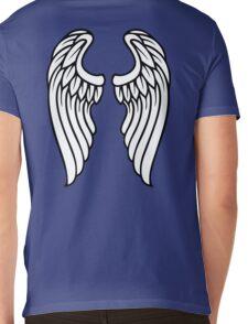 Vector Wings Mens V-Neck T-Shirt