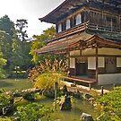 Ginkakuji Pavilion, (Silver Pavilion) Kyoto, Japan by johnrf