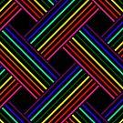Rainbow Gradient Weave 3 by Etakeh