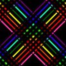 Rainbow Gradient Weave, Larger 5 by Etakeh