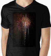 Spinning Spine Men's V-Neck T-Shirt